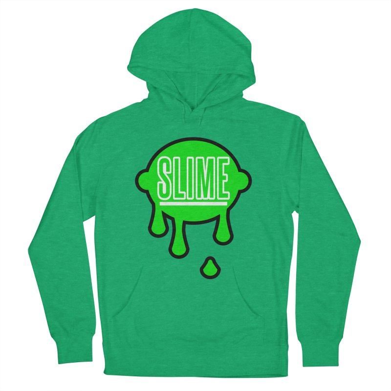 SLIME Women's French Terry Pullover Hoody by atumatik's Artist Shop