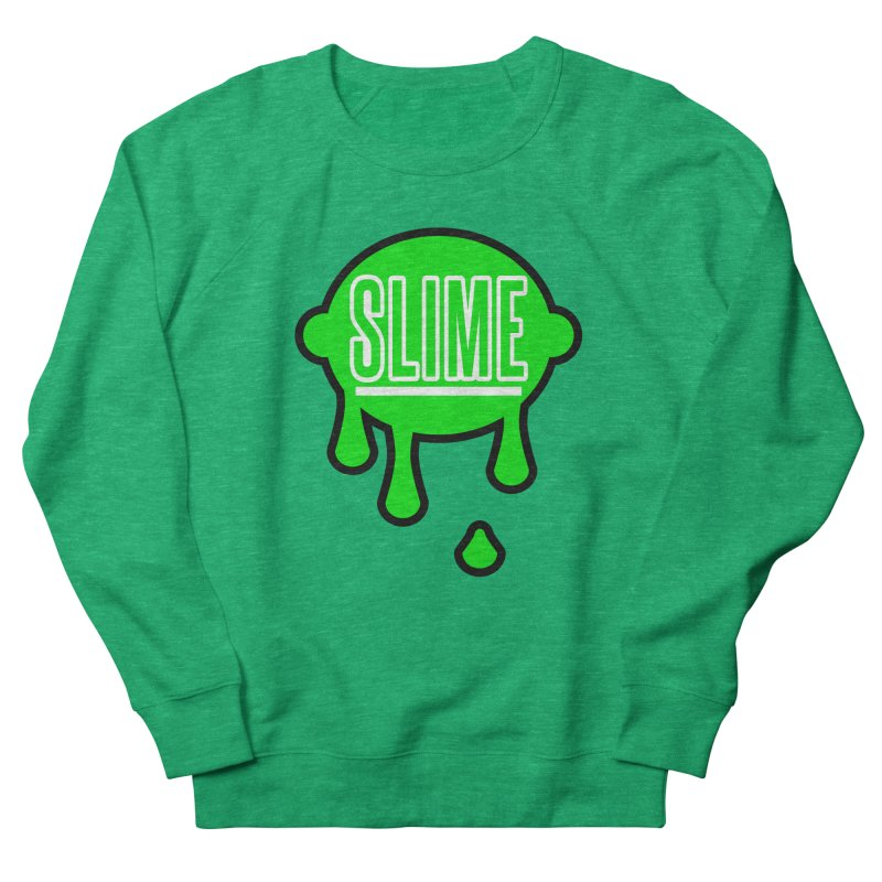 SLIME Men's French Terry Sweatshirt by atumatik's Artist Shop