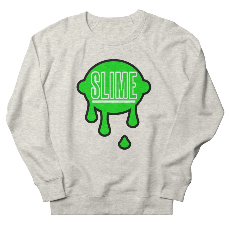 SLIME Men's French Terry Sweatshirt by atumatik's Artist Shop
