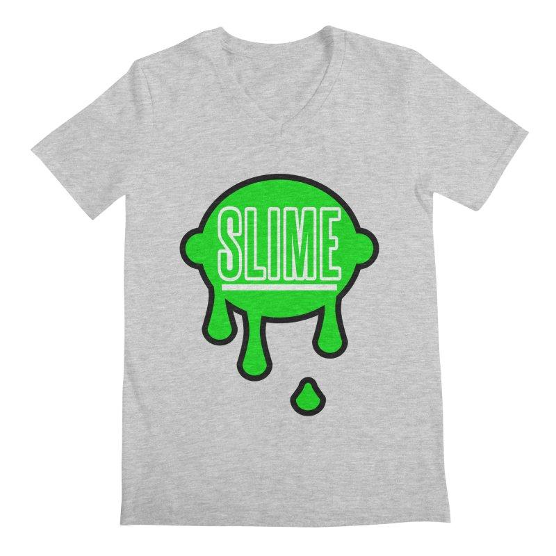 SLIME Men's Regular V-Neck by atumatik's Artist Shop