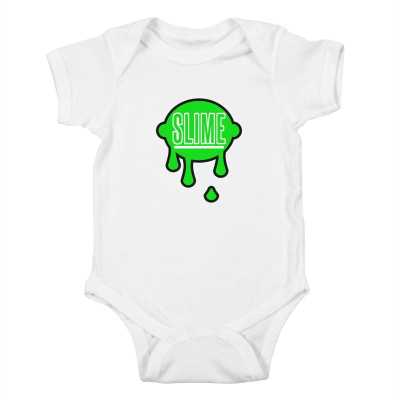 SLIME Kids Baby Bodysuit by atumatik's Artist Shop