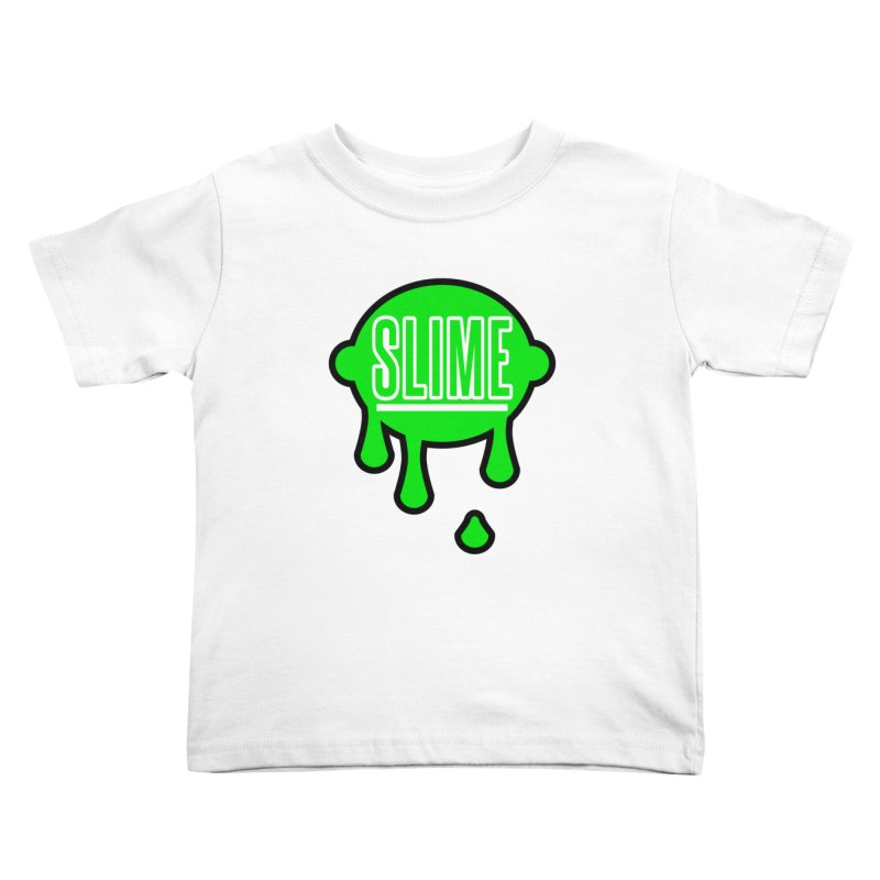 SLIME Kids Toddler T-Shirt by atumatik's Artist Shop