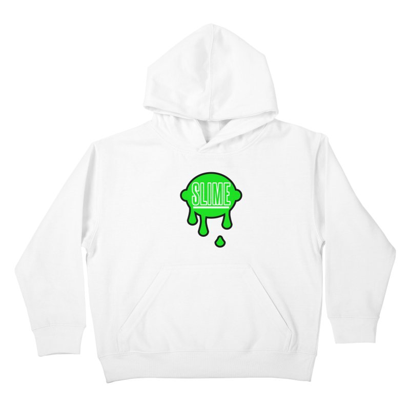 SLIME Kids Pullover Hoody by atumatik's Artist Shop