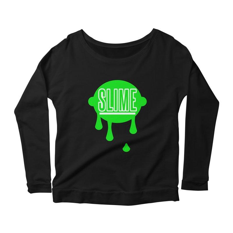 SLIME Women's Scoop Neck Longsleeve T-Shirt by atumatik's Artist Shop