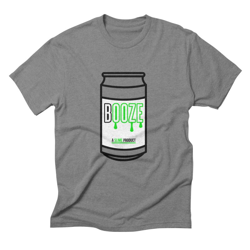BOOZE Men's T-Shirt by atumatik's Artist Shop