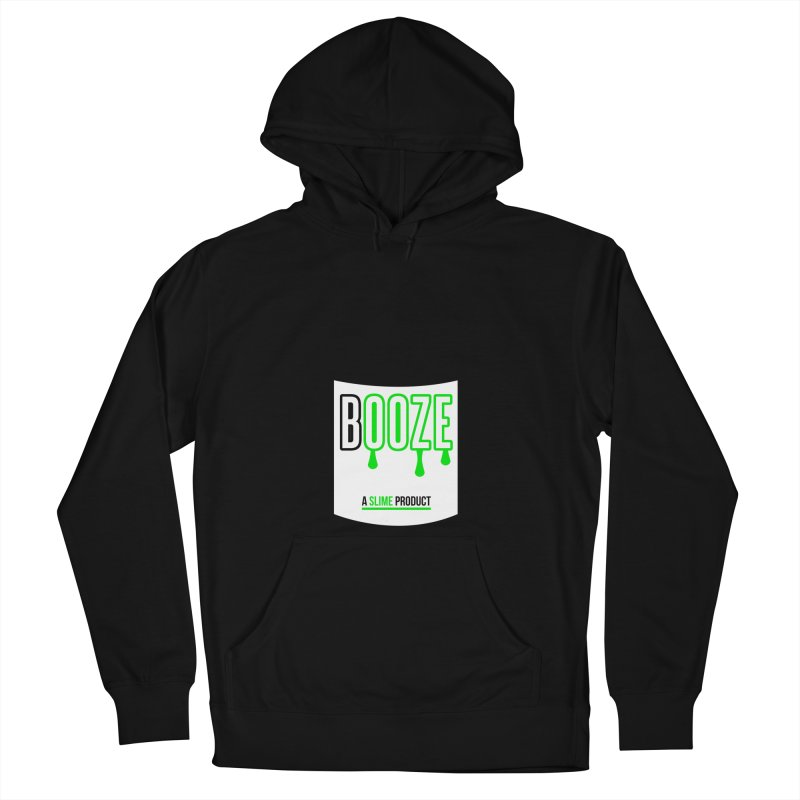 BOOZE Women's French Terry Pullover Hoody by atumatik's Artist Shop