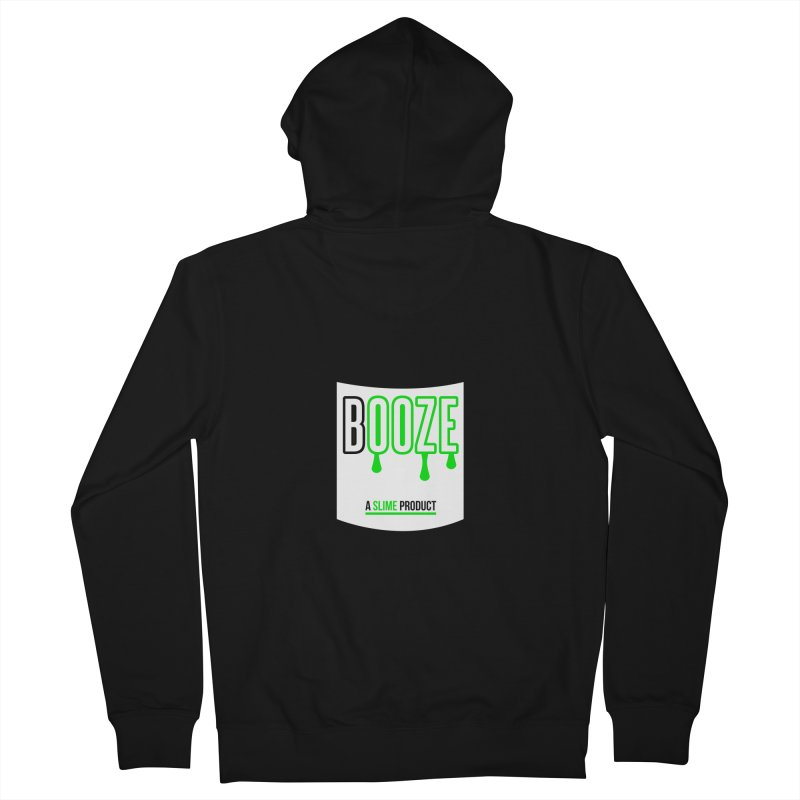 BOOZE Women's Zip-Up Hoody by atumatik's Artist Shop