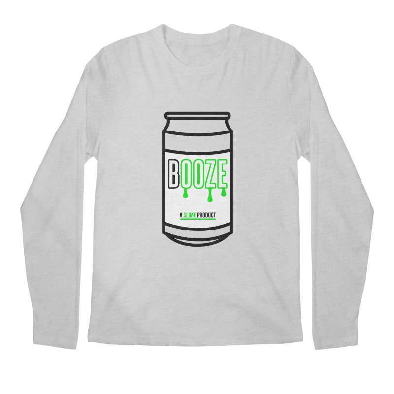 BOOZE Men's Regular Longsleeve T-Shirt by atumatik's Artist Shop