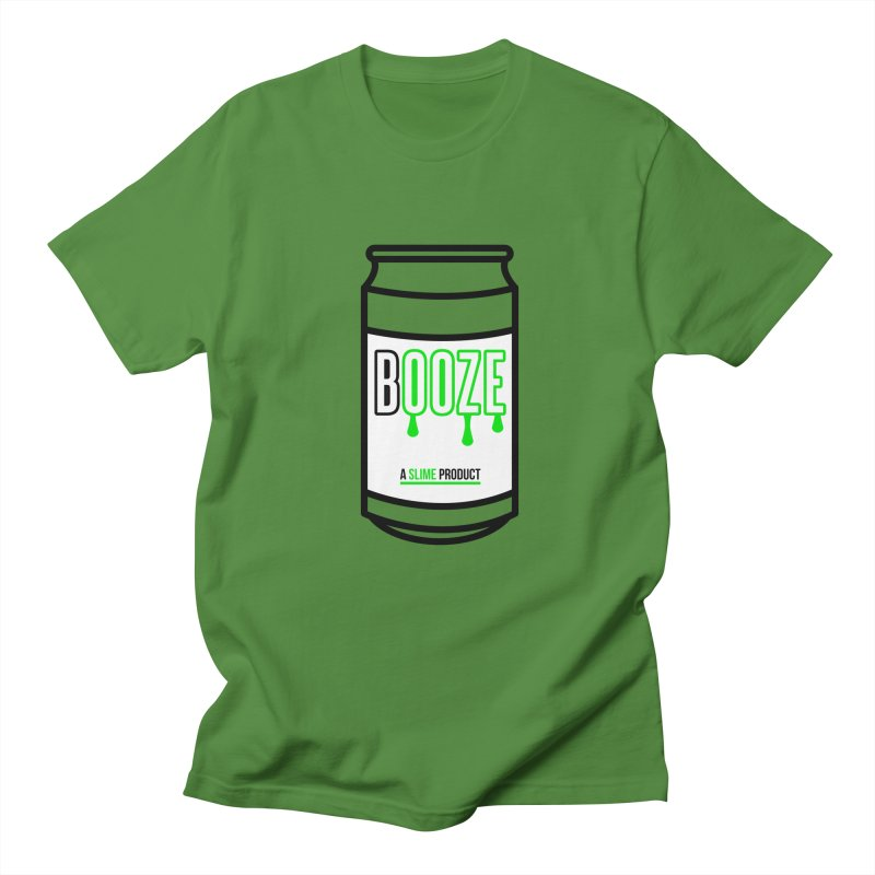 BOOZE Men's Regular T-Shirt by atumatik's Artist Shop