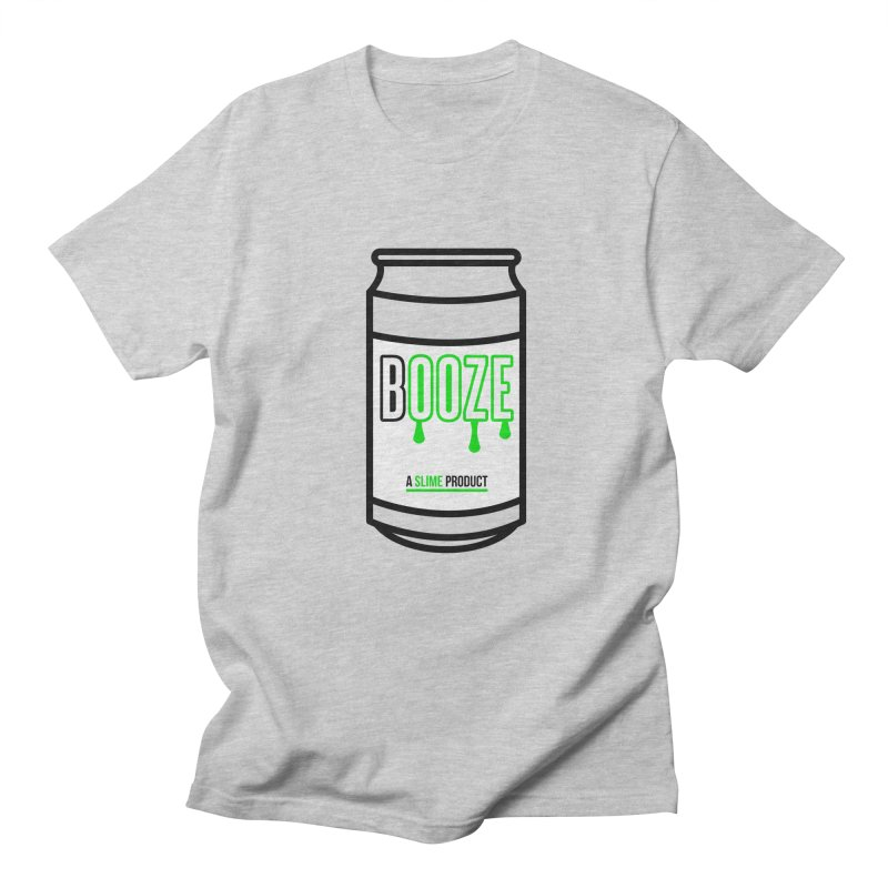 BOOZE Men's Regular T-Shirt by atumatik's Artist Shop