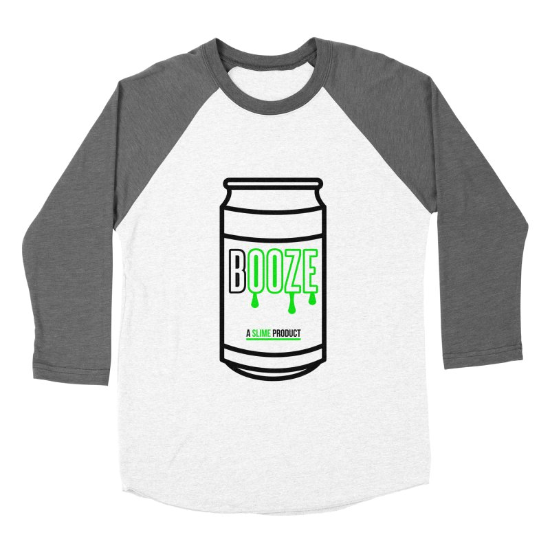 BOOZE Men's Baseball Triblend Longsleeve T-Shirt by atumatik's Artist Shop