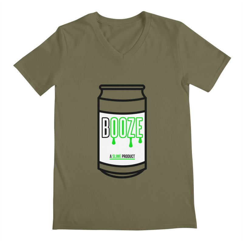 BOOZE Men's V-Neck by atumatik's Artist Shop