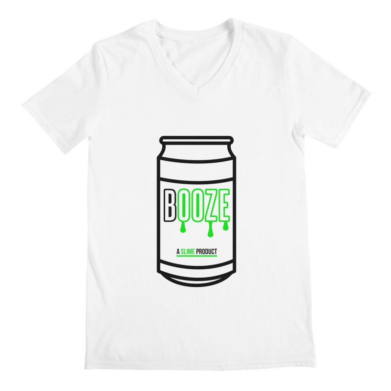 BOOZE Men's Regular V-Neck by atumatik's Artist Shop
