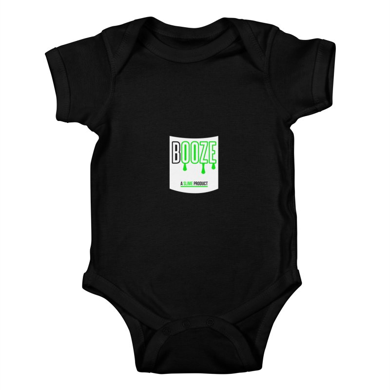 BOOZE Kids Baby Bodysuit by atumatik's Artist Shop