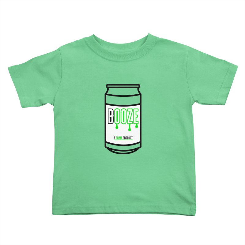 BOOZE Kids Toddler T-Shirt by atumatik's Artist Shop