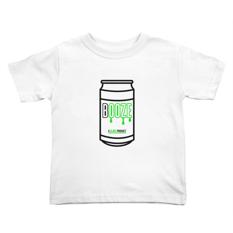 BOOZE Kids Toddler T-Shirt by atumatik's Artist Shop