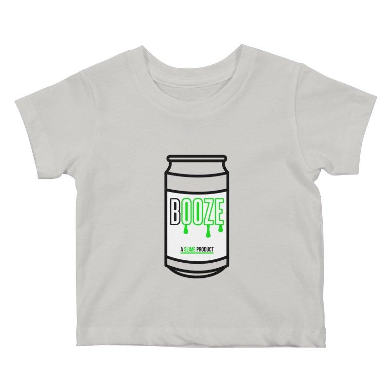 BOOZE Kids Baby T-Shirt by atumatik's Artist Shop