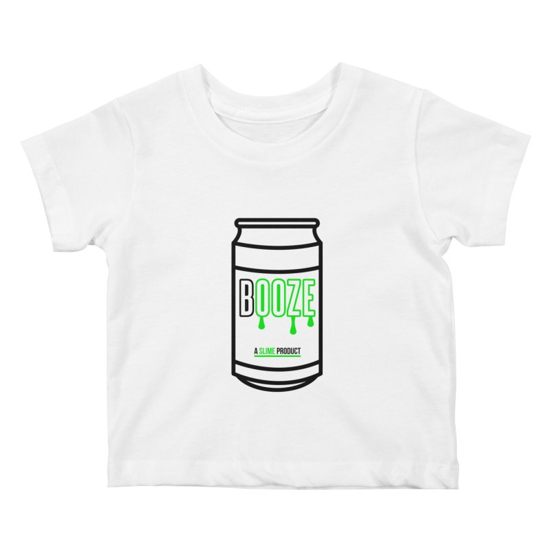 BOOZE Kids Baby T-Shirt by atumatik's Artist Shop