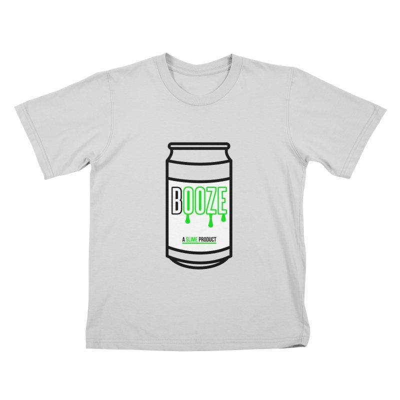 BOOZE Kids T-Shirt by atumatik's Artist Shop