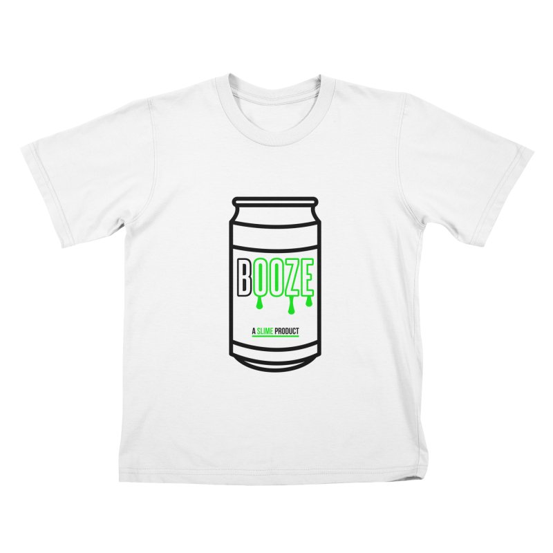 BOOZE Kids T-Shirt by atumatik's Artist Shop