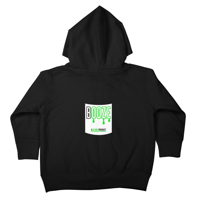 BOOZE Kids Toddler Zip-Up Hoody by atumatik's Artist Shop