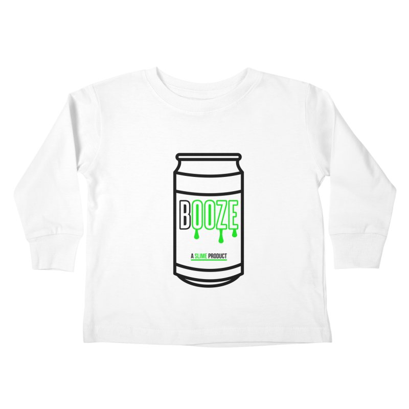 BOOZE Kids Toddler Longsleeve T-Shirt by atumatik's Artist Shop