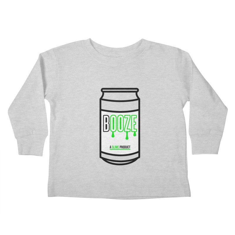 BOOZE Kids Toddler Longsleeve T-Shirt by atumatik's Artist Shop