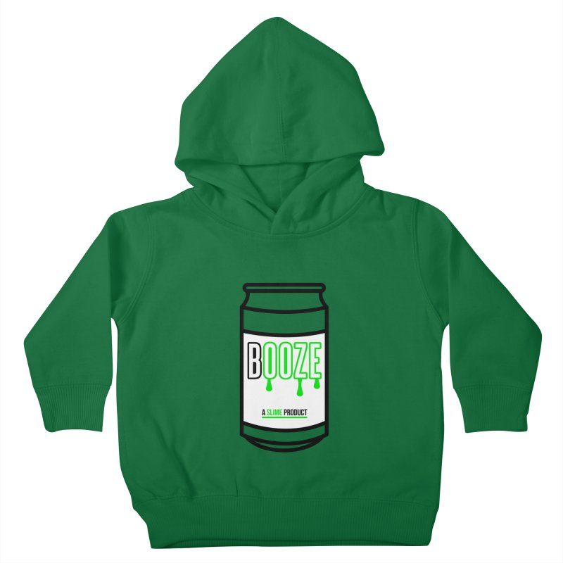 BOOZE Kids Toddler Pullover Hoody by atumatik's Artist Shop