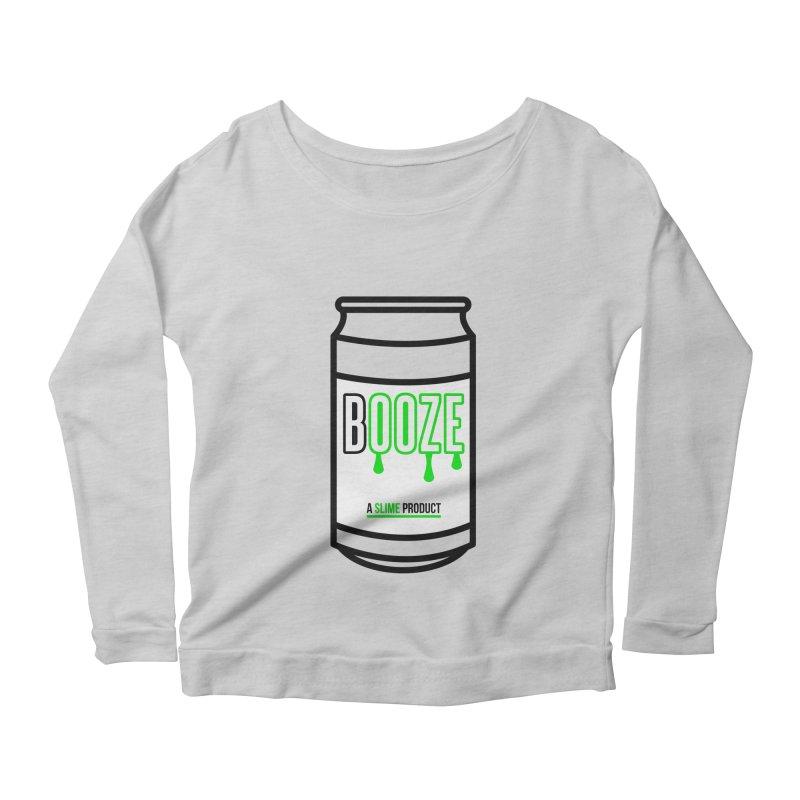 BOOZE Women's Scoop Neck Longsleeve T-Shirt by atumatik's Artist Shop