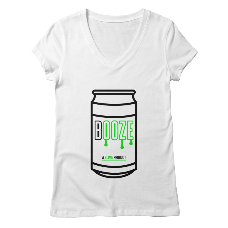 BOOZE Women's V-Neck by atumatik's Artist Shop