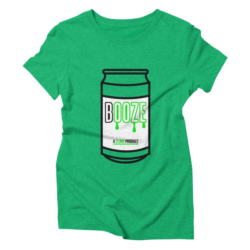 BOOZE Women's Triblend T-Shirt by atumatik's Artist Shop