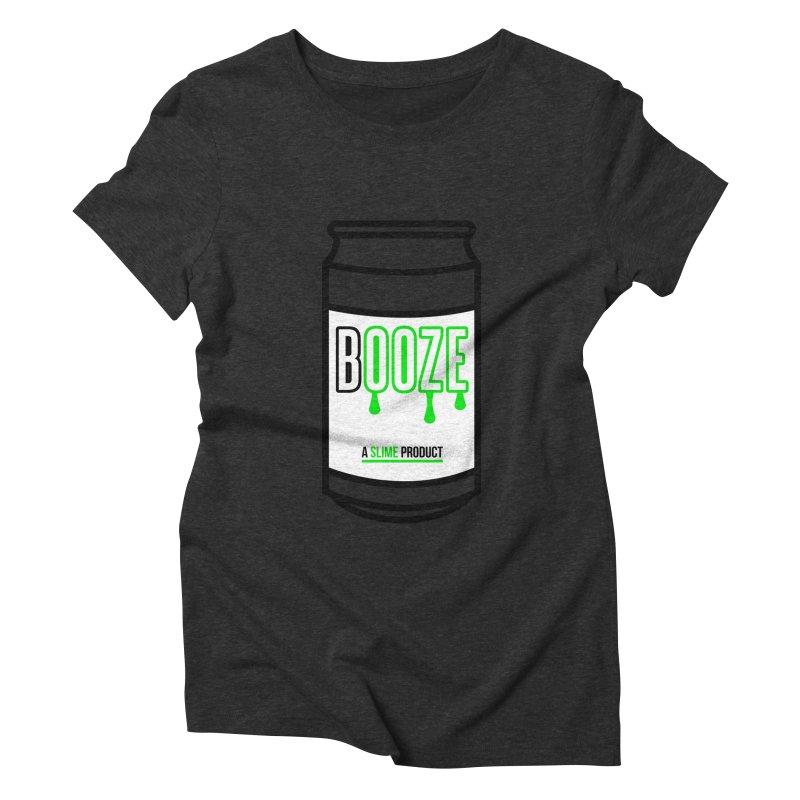 BOOZE Women's Triblend T-shirt by atumatik's Artist Shop