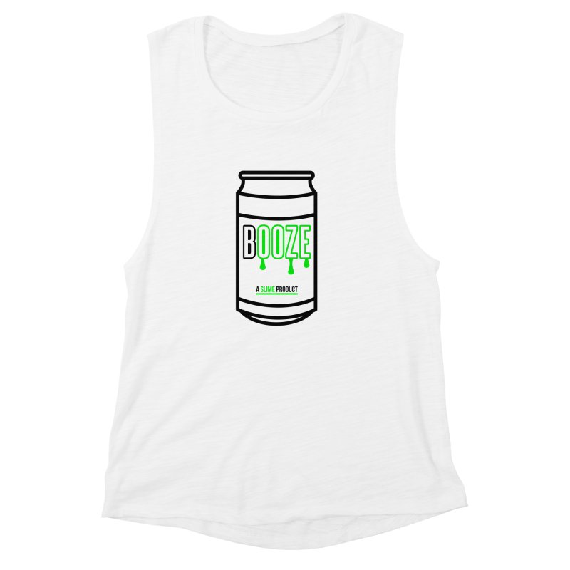 BOOZE Women's Muscle Tank by atumatik's Artist Shop