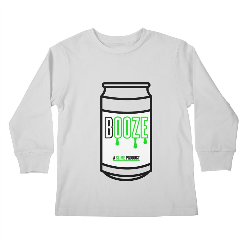 BOOZE Kids Longsleeve T-Shirt by atumatik's Artist Shop