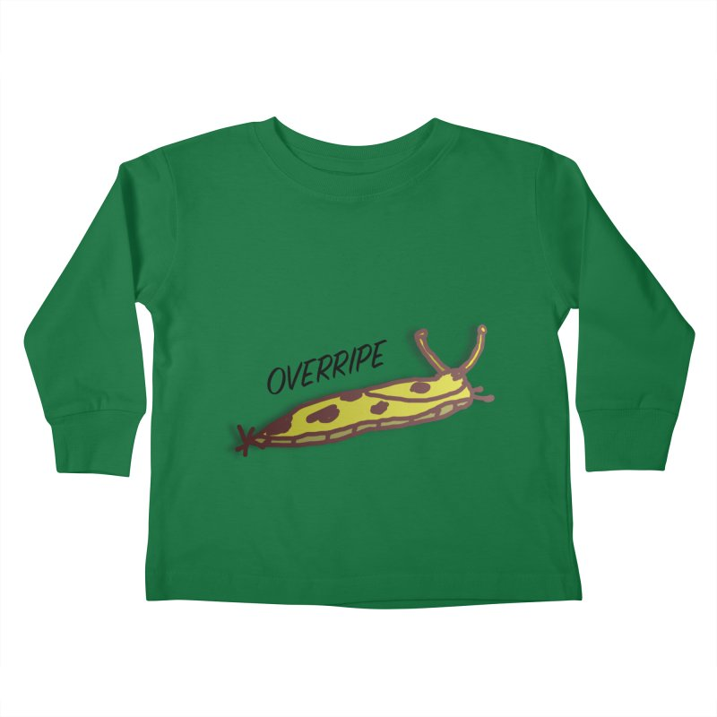 OVERRIPE Kids Toddler Longsleeve T-Shirt by atumatik's Artist Shop