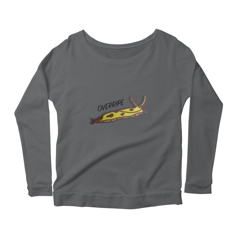 OVERRIPE Women's Scoop Neck Longsleeve T-Shirt by atumatik's Artist Shop