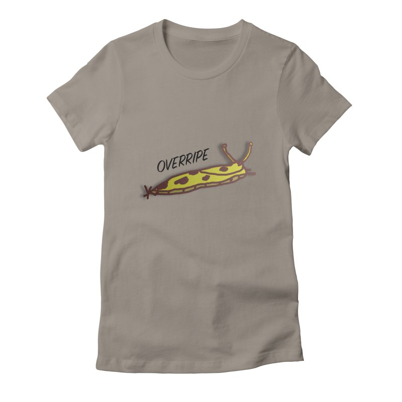OVERRIPE Women's Fitted T-Shirt by atumatik's Artist Shop