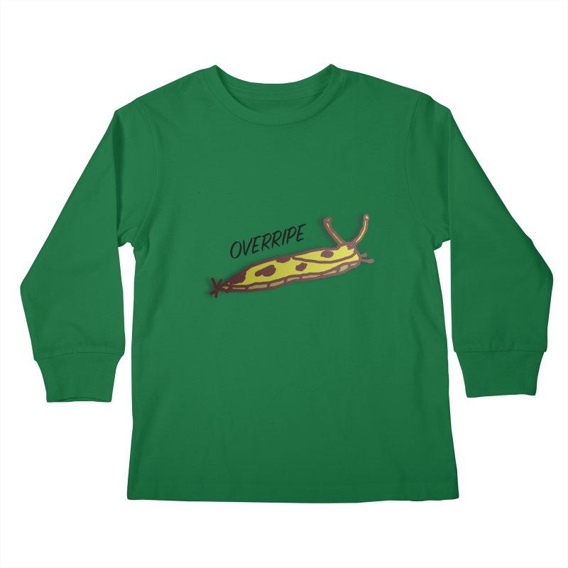 OVERRIPE Kids Longsleeve T-Shirt by atumatik's Artist Shop