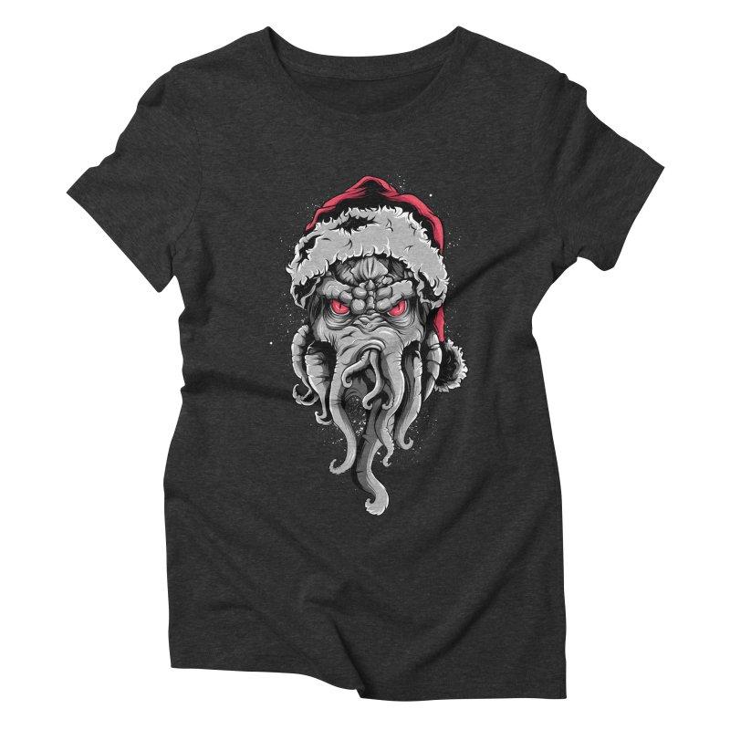 HoHoHo Women's Triblend T-shirt by audi's Artist Shop