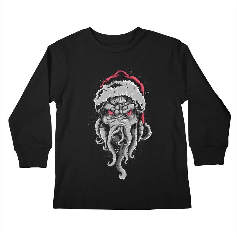 HoHoHo Kids Longsleeve T-Shirt by audi's Artist Shop