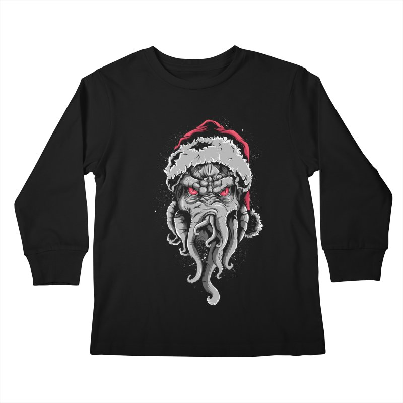 HoHoHo Kids Longsleeve T-Shirt by audi's Artist Shop