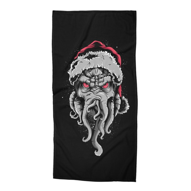 HoHoHo Accessories Beach Towel by audi's Artist Shop