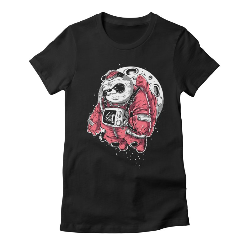FLOATER Women's Fitted T-Shirt by audi's Artist Shop