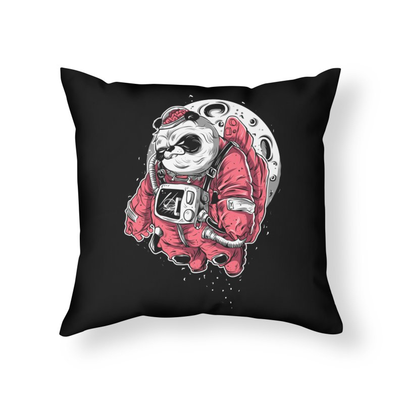 FLOATER Home Throw Pillow by audi's Artist Shop