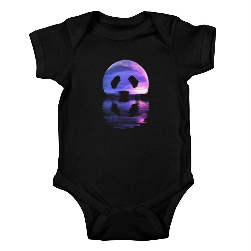 PANDAMOON Kids Baby Bodysuit by audi's Artist Shop