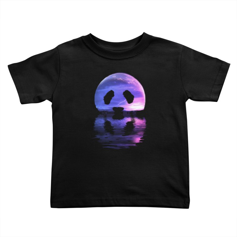 PANDAMOON Kids Toddler T-Shirt by audi's Artist Shop