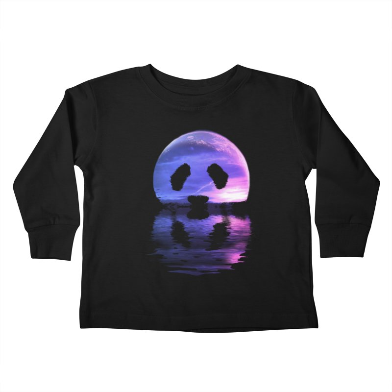 PANDAMOON Kids Toddler Longsleeve T-Shirt by audi's Artist Shop