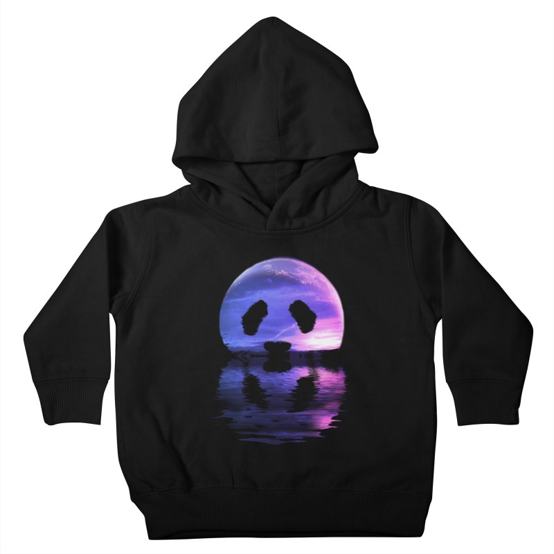 PANDAMOON Kids Toddler Pullover Hoody by audi's Artist Shop