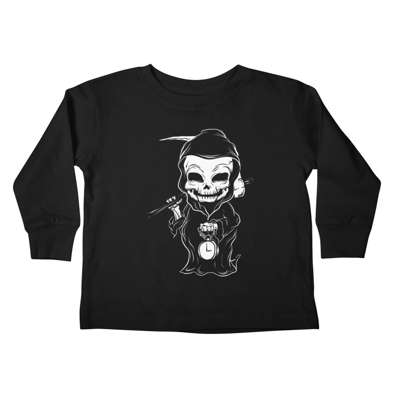 baby grim Kids Toddler Longsleeve T-Shirt by audi's Artist Shop