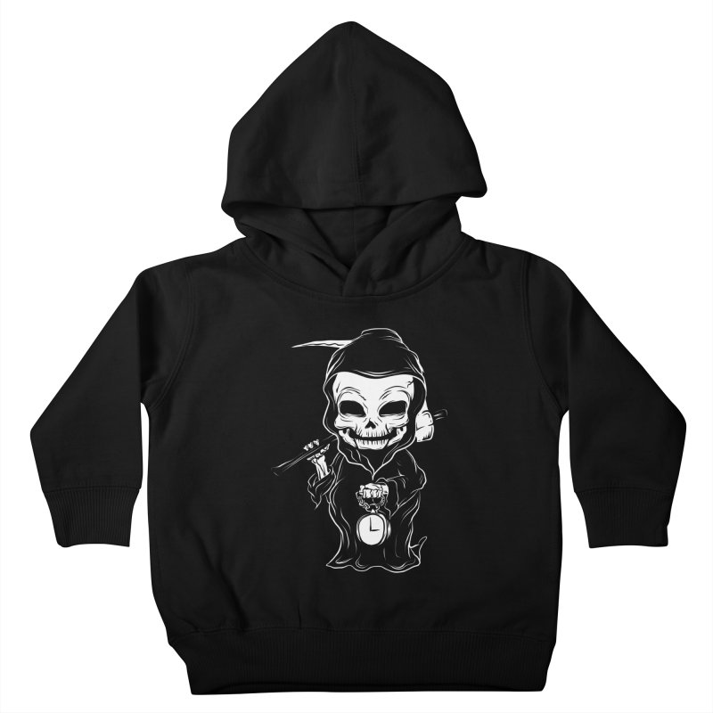 baby grim Kids Toddler Pullover Hoody by audi's Artist Shop